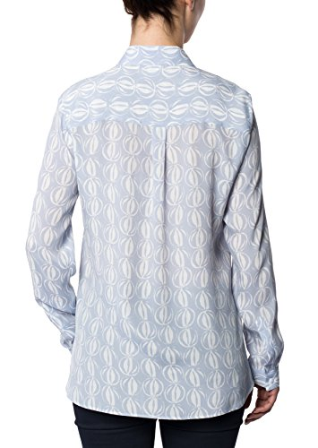 ETERNA long sleeve Blouse MODERN FIT printed Azul