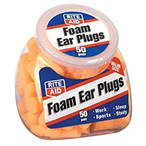 Rite Aid Foam Ear Plugs