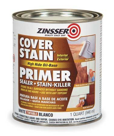 Primer/Stain Blocker, White, 1 qt.: House Primers: Amazon.com: Industrial & Scientific