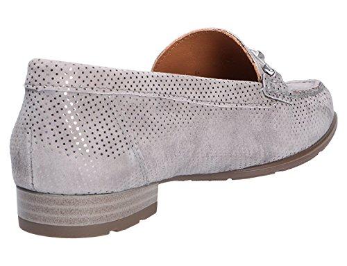 ara Ladies Slipper 12-42230-24 Smoke Gray Grey GpZ155B