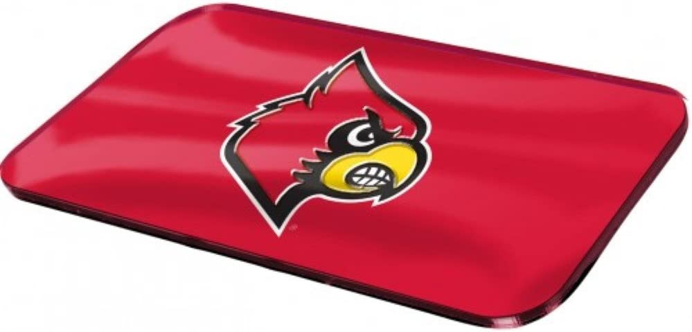 Louisville Cardinals Logo Crystal Mirror License Plate