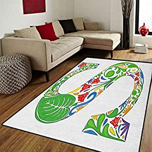 Amazon Com Letter S Door Mats For Home Nature Inspired