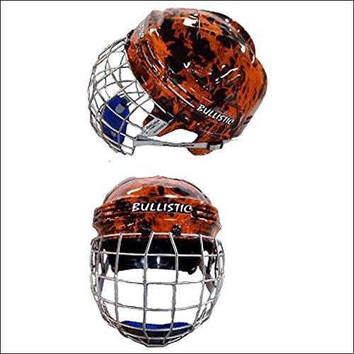 サドルバーンMedium ProtectiveデザイナーBallistic BullライダーヘルメットFlame