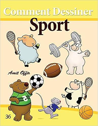 Amazon Com Comment Dessiner Sport Livre De Dessin