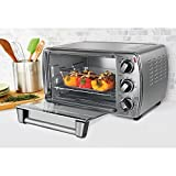 "NEW! 6-Slice ""Energy Saver"" Convection Countertop Oven with Versatile Cooking Functions, Silver Finish Review"