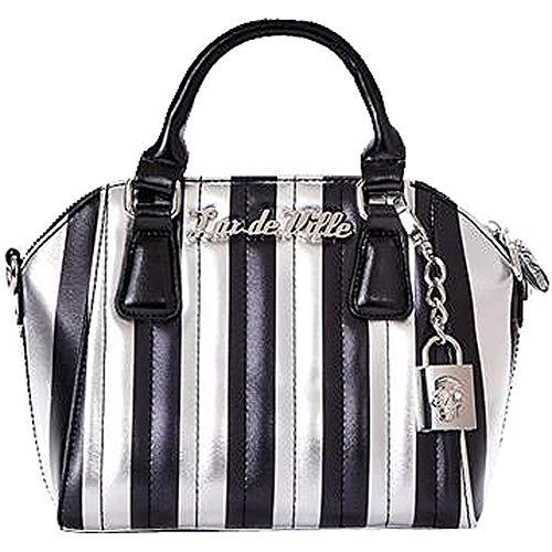 Lux De Ville Mini Carnival Tote Limited Edition Silver/Black -