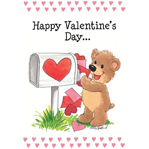 Suzy's Zoo Valentines Cards 4-pack, Happy Valentines Day 10952 Sales
