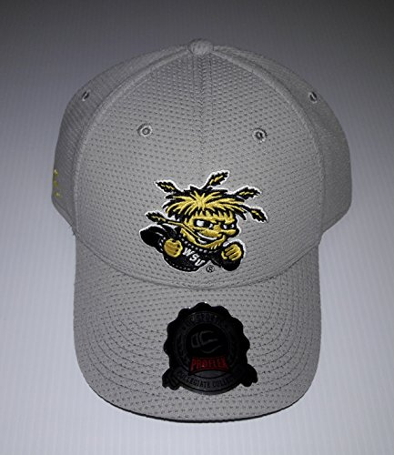 S. Wichita State Shockers 3D Embroidered Hat Flexfit Fitted Cap OSFM