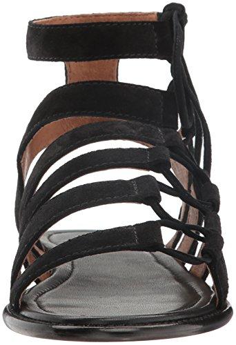 Fleece Dames Blair Side Ghillie Gladiator Sandaal Zwart