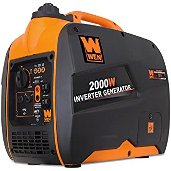 WEN 56200i Super Quiet 2000-Watt Portable Inverter Generator, CARB Compliant