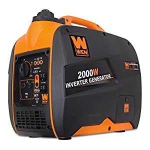 WEN 56200i 2000-Watt Gas Powered Portable Inverter Generator, CARB Compliant