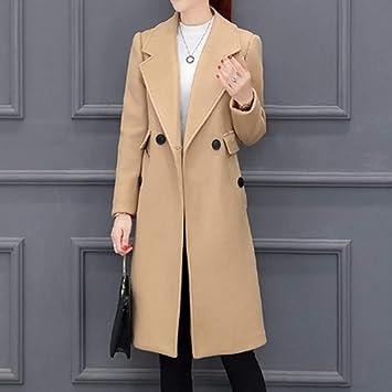 YSFU Abrigos Abrigos De Mujer Trench Jacket Abrigos Largos En Otoño E Invierno Abrigos Abrigos Outwear Sudaderas Tops Moda Casual para Mujer Vestido Suave ...