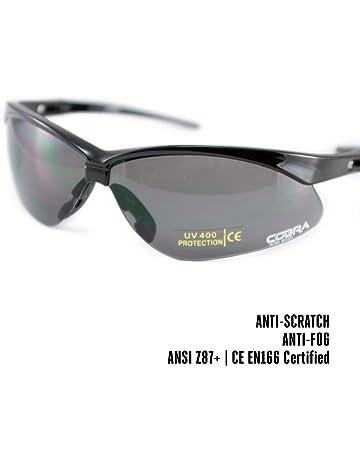 65aec28109 Cobra - Gafas tácticas para Airsoft, antiempañamiento y antiarañazos, Gafas  Protectoras de Seguridad y