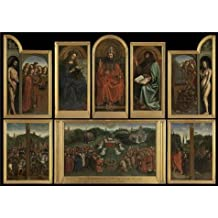 Oil Painting 'The Adoration Of The Lamb - Jan Van Eyck (Copy After)' Printing On High Quality Polyster Canvas , 20x28 Inch / 51x72 Cm ,the Best Dining Room Decor And Home Gallery Art And Gifts Is This Beautiful Art Decorative Canvas Prints