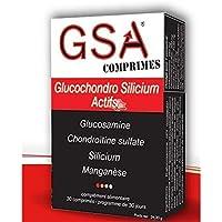 GSA Comprimés Glucochondro Silicium Actifs 30 Comprimés