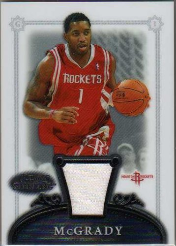 2006-07 Bowman Sterling #16 Tracy McGrady Game Jersey Card
