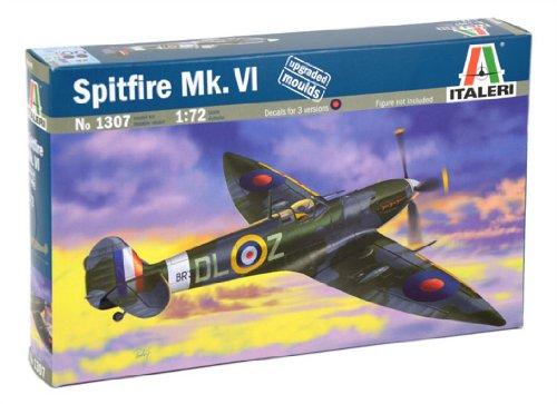Spitfire Mk Italeri 1307 Vi Model Kit  Scala 1:72