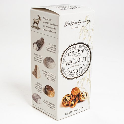 Oaten Walnut Biscuits from The Fine Cheese Co. (6.3 ounce) (Cheese Biscuits Best)