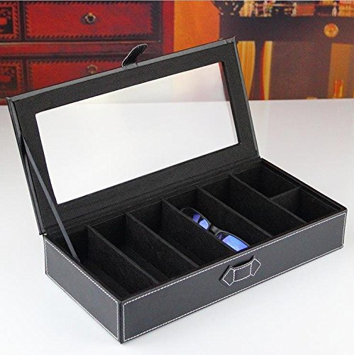 2616126bba0 Moldiy Black Leather Glasses Box