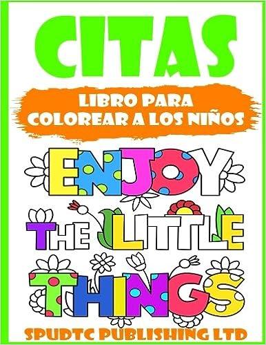 Buy Citazioni Libro Da Colorare Per Bambini Book Online At