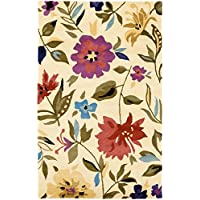 Safavieh Soho Collection SOH854A Handmade Ivory and Multi Premium Wool Area Rug (9 x 12)