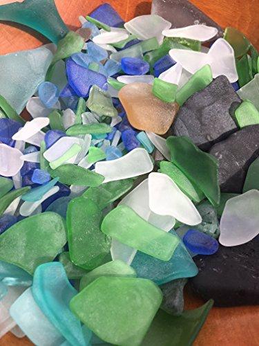 1/2 pound Bulk sea glass ~ surf tumbled ~ beach glass