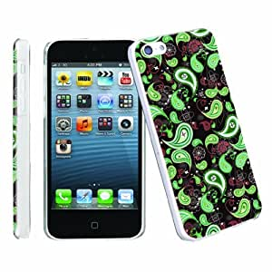 LJF phone case [ArmorXtreme] Apple iphone 5C Lite UltraSlim Smooth Clear Cover Phone Case [Sprite]
