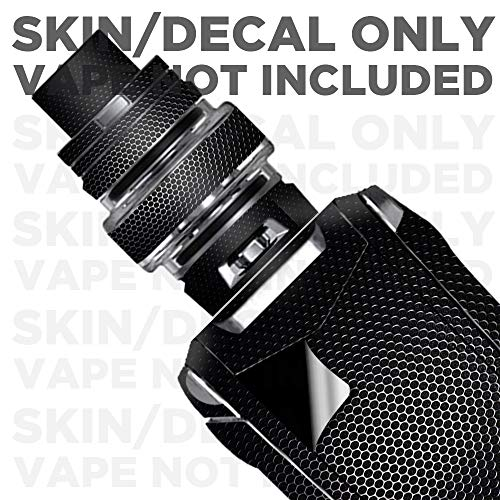 IT'S A SKIN Decal Vinyl Wrap for Smok Species 230W TFV8 Baby V2 Vape Sticker Sleeve Cover/Black Metal Pattern