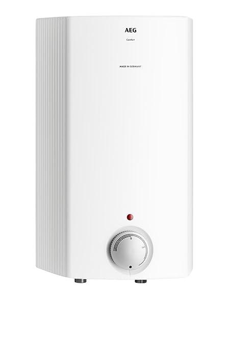 AEG 222154 Hoz 5 Comfort - Calentador de sistema abierto (tamaño pequeño, 5 litros