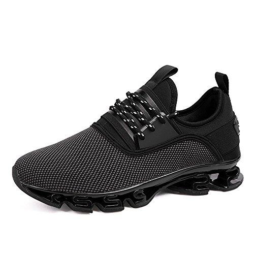 Athletic Hommes Course Chaussures Mode Baskets Mesh Jogging Black Casual Sports Lgres De dbj Respirant Gym Marche Watelves fqwABw