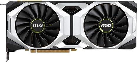 Amazon.com: MSI GeForce RTX 2080 Ti VENTUS 11G OC - Tarjeta ...