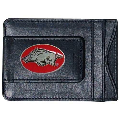 Arkansas Card Razorbacks Credit - NCAA Arkansas Razorbacks Cash and Card Holder