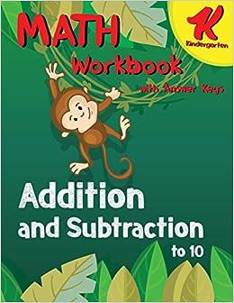 Buy Kindergarten Math Workbook Addition And Subtraction To 10