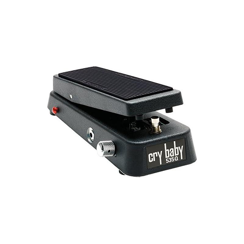 Dunlop 535Q Cry Baby Multi-Wah, Black