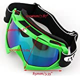 Motorcycle Racing Glasses Outdoor Motocross Sports Bike Riding Protective Eyewear Sun UV-Protection Color Lens Goggles