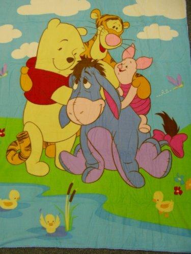 (Disney Winnie The Pooh Blanket - Fleece Blanket)