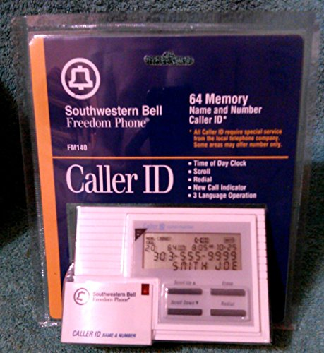 SOUTHWESTERN BELL FREEDOM PHONE CALLER ID MODEL# FM140 ()