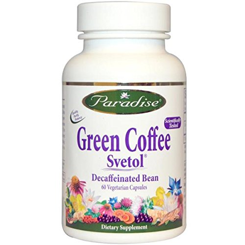 Rapture Herbs Vegetarian Capsules, Svetol Green Coffee Bean, 60 Count