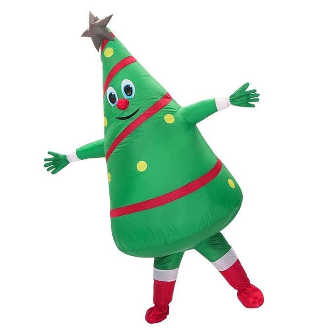 GDCB Disfraz de árbol de Navidad inflable Blow up Fancy Dress ...