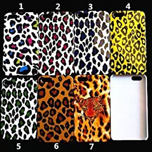 Leopard Pattern PC Hard Back Case Cover For iPhone 5 --- Design:1
