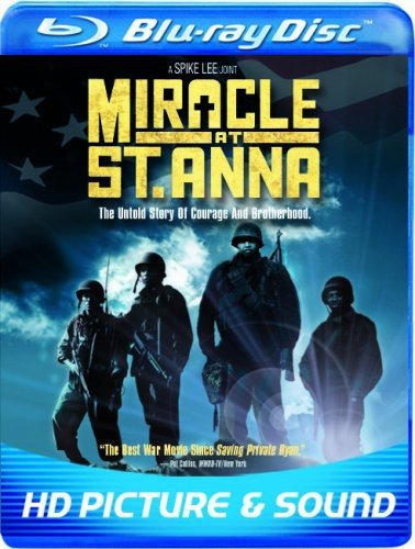 Blu-ray : Miracle At St. Anna (, Dubbed, Dolby, AC-3, Widescreen)