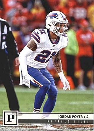 2018 Panini NFL Football  39 Jordan Poyer Buffalo Bills Official Trading  Card 2f7547794b