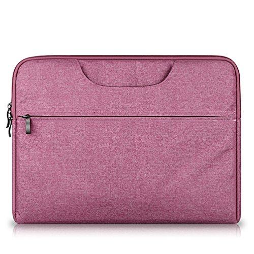YiJee Funda Blanda para Ordenador Portátil Macbook Pro Retina 11.6 - 15.6 Pulgadas 15.4 Inch Rose
