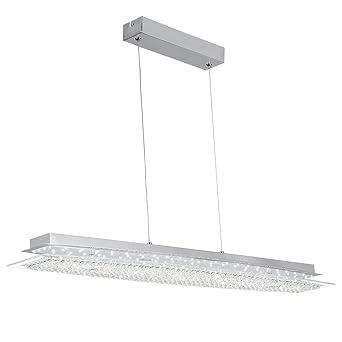 Altura Regulable 24 W LED Lámpara colgante Lámpara de techo ...