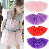 Pink Lizard Baby Girls Princess Sequins Ballet Dance Tutu Skirt