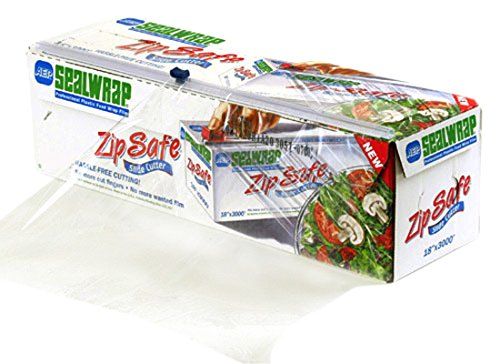 """AEP SealWrap Zipsafe Plastic Wrap, 18"""" Wide by 3000' Leng..."""