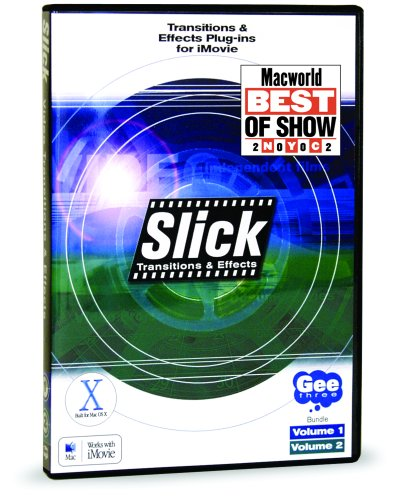 Amazon com: Slick Transitions & Effects for iMovie, Vol  1