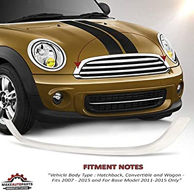 Make Auto Parts Manufacturing Chromed Hood Molding For Mini Cooper 2007-2015 / Cooper Base Model 2011-2015 - MC1235100: Automotive