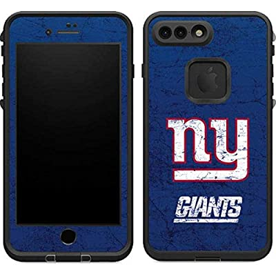 NFL New York Giants LifeProof Fre iPhone 7 Plus Skin - New York Giants Distressed