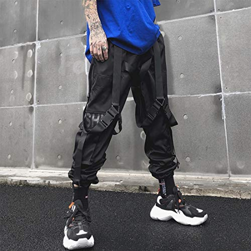 Aelfric Eden Mens Joggers Pants Long Multi-Pockets Outdoor Fashion Casual Jogging Cool Pant with Drawstring